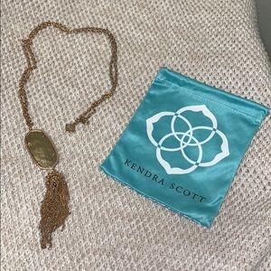 "Kendra Scott Jewelry - Kendra Scott Rose Gold 18"" Necklace with Tassel"